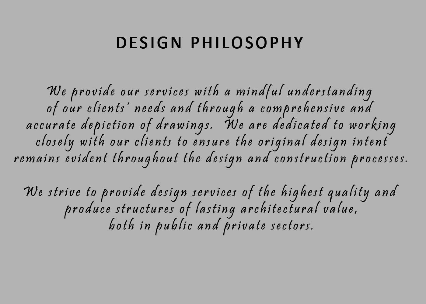 Dlo home for Philosophy design